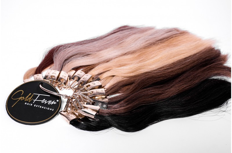 Gold Fever Hair Extensions Colour Ring
