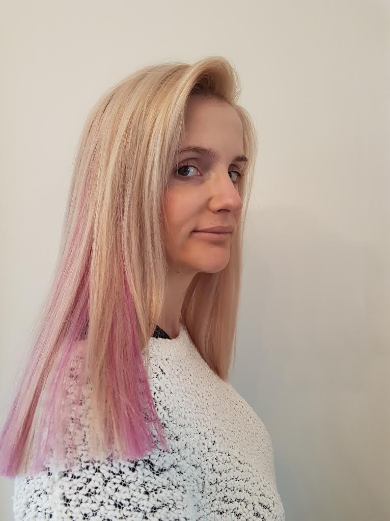 Pastel Pink Pre Bonded Hair Extensions