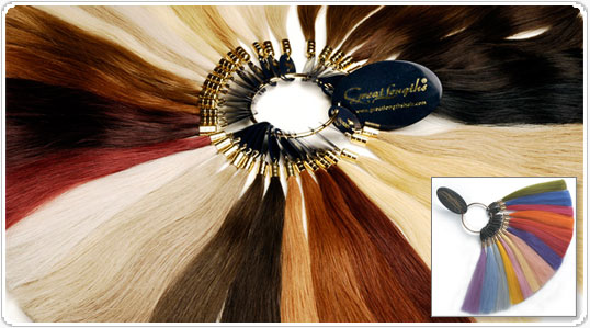 extensions colour reel