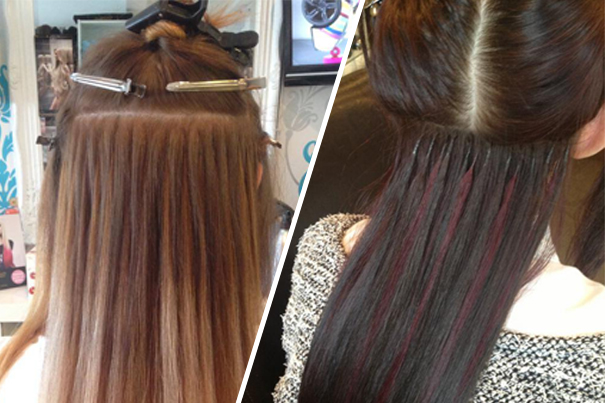 hair extensions pre bonded
